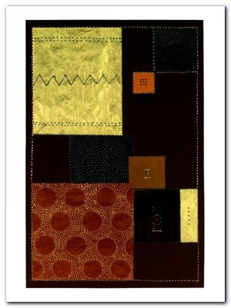 Abstract In Brown II plakat obraz 60x80cm (1)