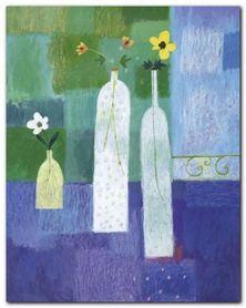 Floral Study plakat obraz 24x30cm