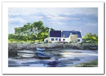 Le Petit Port I plakat obraz 70x50cm (1)