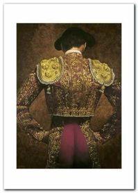 Traje De Luz I plakat obraz 50x70cm
