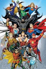DC COMICS plakat 61x91cm