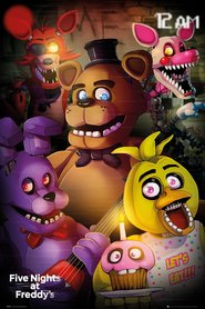 FIVE NIGHTS AT FREDDY'S plakat 61x91cm