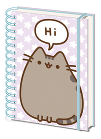 PUSHEEN notes A5 ring