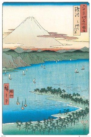 HIROSHIGE plakat 61x91cm (1)