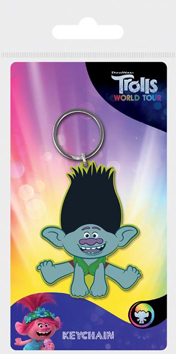 TROLLS WORLD TOUR brelok gumowy (1)