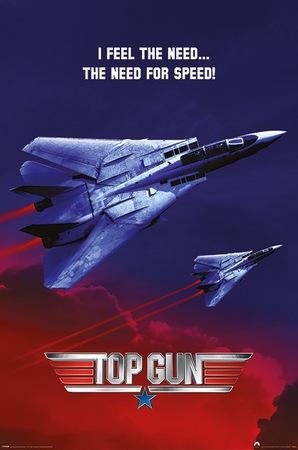 TOP GUN plakat 61x91cm (1)