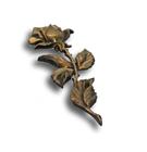 Róża mała prosta mosiądz standard wys. 15 cm (2)