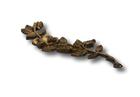 Róża gałązka mosiądz standard mosiądz wys. 17 cm (2)