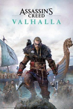 ASSASSINS CREED VALHALLA plakat 61x91cm (1)