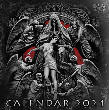 SPIRAL kalendarz ścienny na 2021 rok (1)