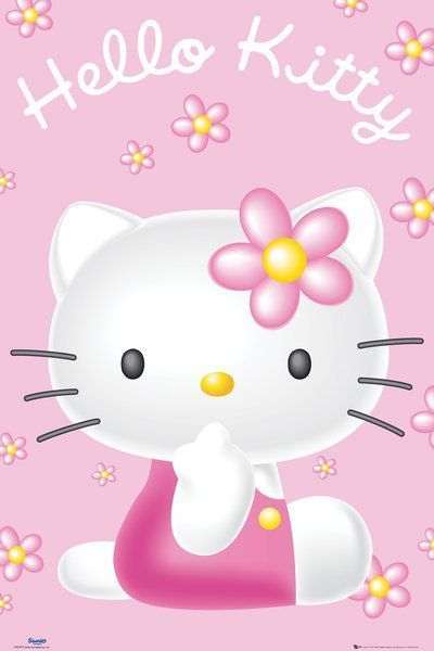 HELLO KITTY plakat 61x91cm (1)