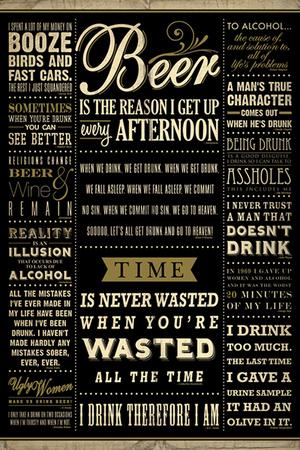 ALKOHOLE plakat 61x91cm (1)