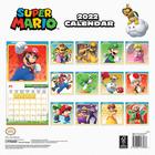SUPER MARIO kalendarz ścienny na 2022 rok (3)
