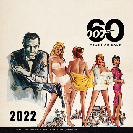 BOND kalendarz ścienny na 2022 rok (1)