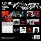 AC DC kalendarz ścienny na 2022 rok (3)