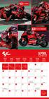 MOTO GP kalendarz ścienny na 2022 rok (2)