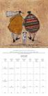 TOFT kalendarz ścienny na 2022 rok (2)