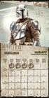MANDALORIAN kalendarz ścienny na 2022 rok (2)