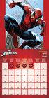 SPIDERMAN kalendarz ścienny na 2022 rok (2)