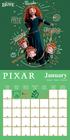 PIXAR kalendarz ścienny na 2022 rok (2)