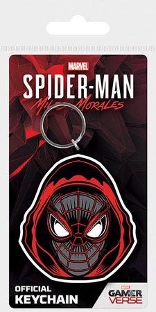 SPIDER-MAN MILES MORALES brelok gumowy (1)